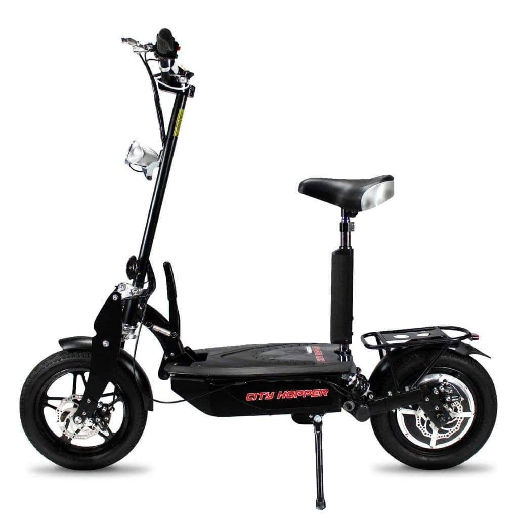 City Hopper Super Turbo Brushless 1000w Foldable Electric Scooter Ch16d Bk Super Turbo Electric Scooter Scooters For Sale