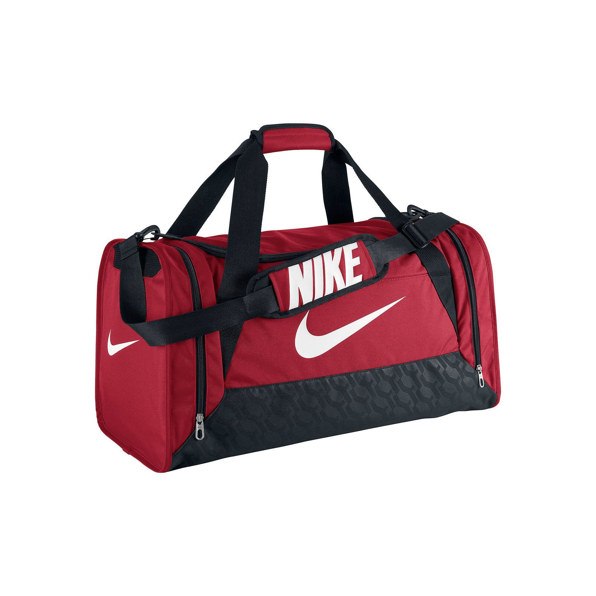 9b3388102 Nike Brasilia 6 Medium Duffel Bag, Red | Products | Nike duffle bag ...