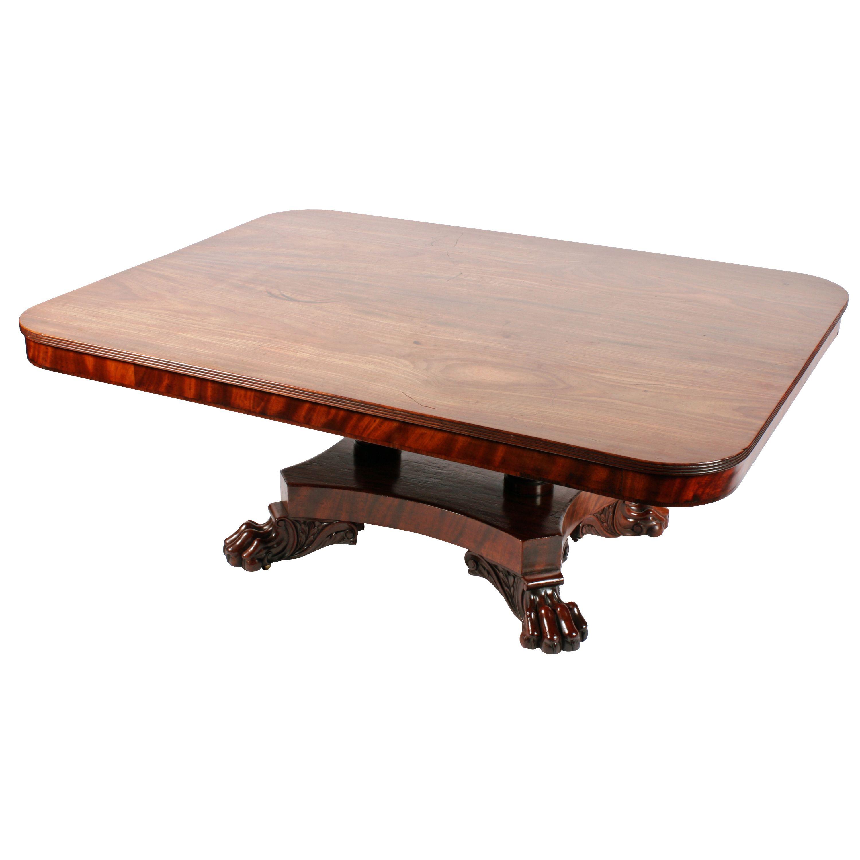 George Iv Mahogany Coffee Table Mahogany Coffee Table Antique