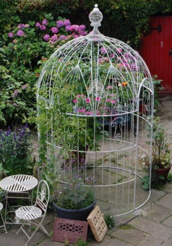 Victorian Style Bird Cage Garden Gazebo