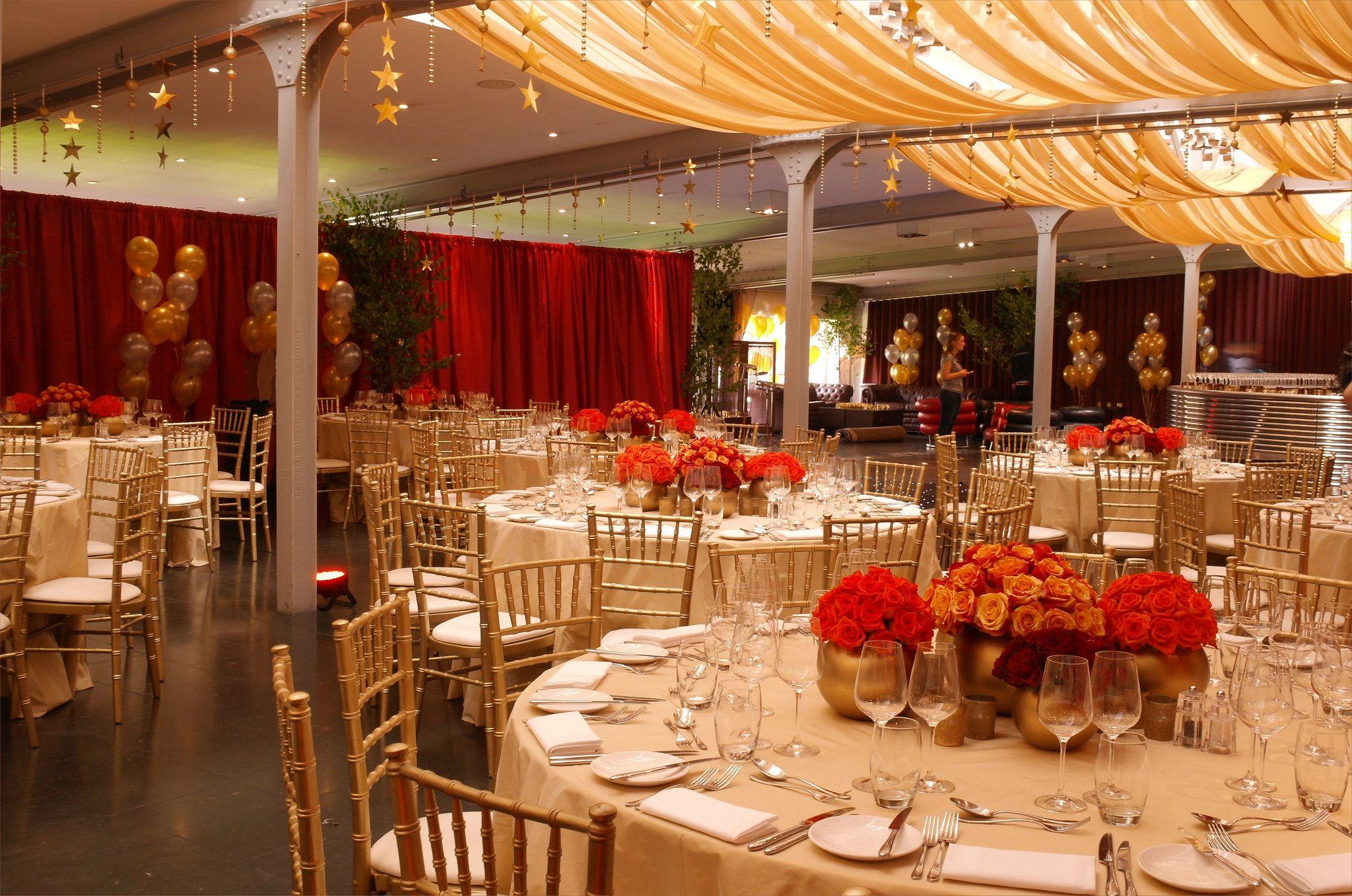 Bluebird Restaurant Chelsea - Black starlit dance floor, burgundy ...