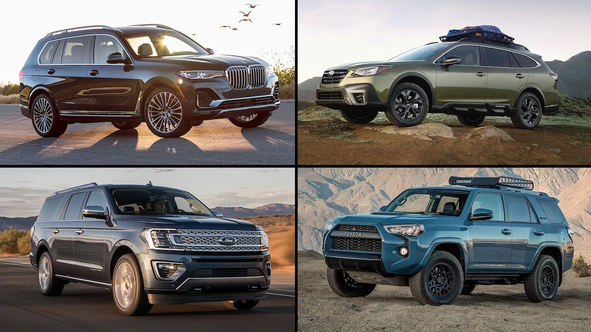 It's the First Day of Summer! Here are 15 SUVs for Your