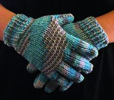 Photo of How to Loom Knit Gloves Round Loom