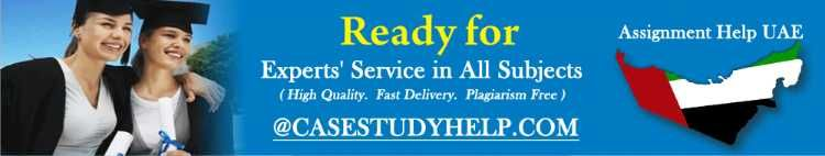 Students studying in UAE often face problems while finding a reliable and professional writing company. Well, now there is no need to look else because we Casestudyhelp.com offer professional as well as reliable Assignment help UAE . Our services are quite popular in UAE and students of different college and university use our writing services. Apart from assignment writing services, we also offer essay writing services, case study help and more. We aim to help students with quality and sat...