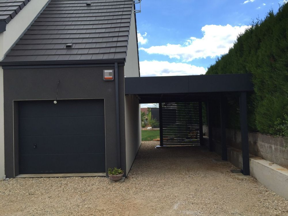 nord Archives Carport Garage bois toit plat, Abri de