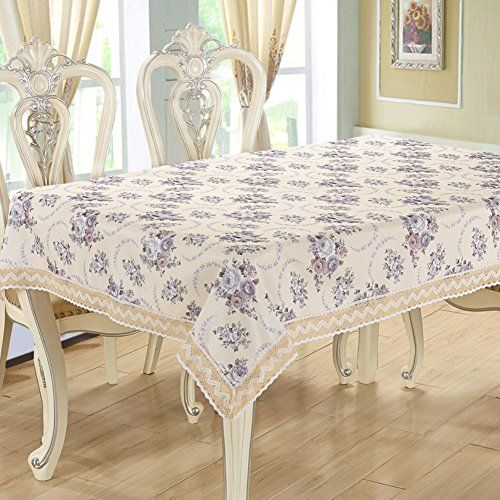 Rural Tablecloth Home Sewing Table Cloth Round Coffee Pad H 150200cm 59x79inch