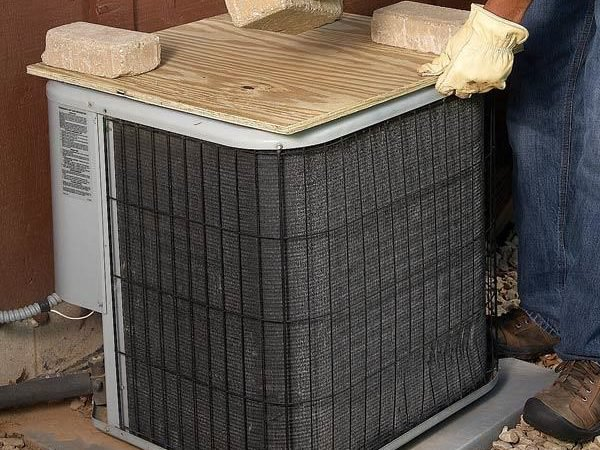 Covering Your Air Conditioner Condenser Unit Air