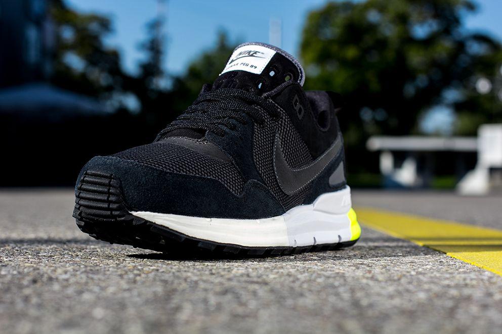 buy popular 2f3bd 45532 Nike Lunar Pegasus 89  Black, Anthracite   Volt