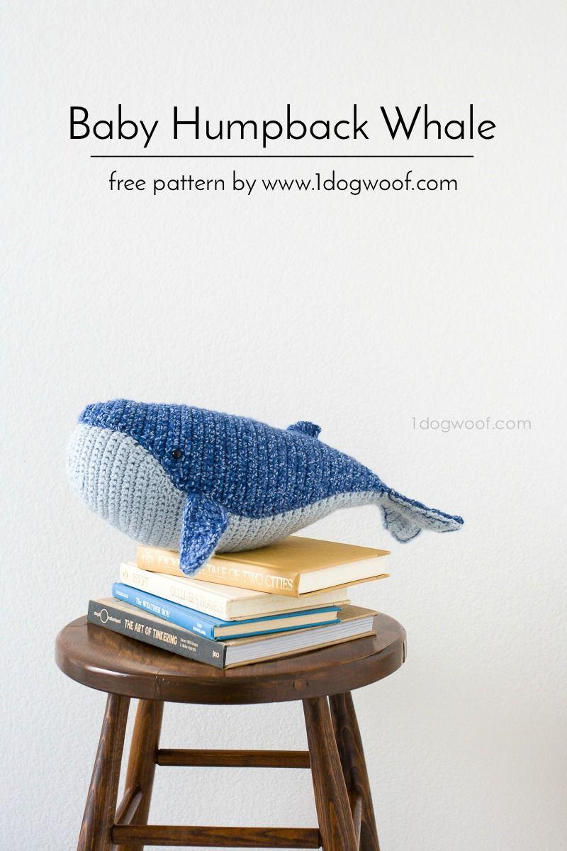 Crochet Baby Humpback Whale Amigurumi Free Pattern - #Amigurumi ...   1200x800