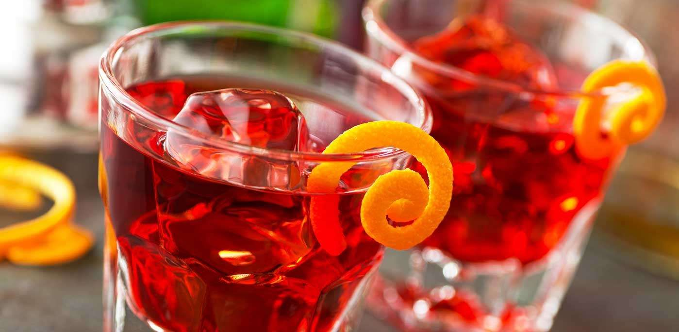 Salute The Clink Clink Of Glasses Resounds Like Church Bells Throughout Italy As The Late Afternoon Begins To Dissolve Towar Negroni Cocktails Campari
