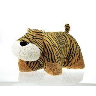 """Transformable Tiger Animal Pillow 18"""" by Fiesta by Fiesta. $21.59. Nice Quality and Detail.. Transforms from a Plush Animal into a Pillow.. Fiesta offers a wide selection of well-designed, quality stuffed animals and novelty plush.'"""