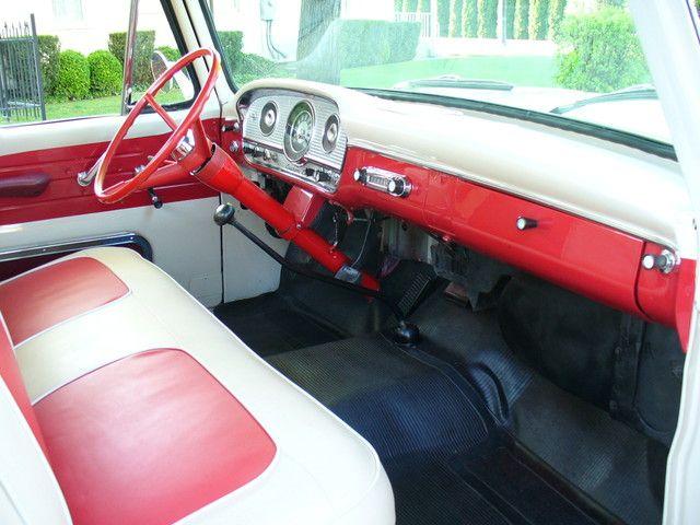 1963 F100 Interior Picture Ford Trucks Old Ford Trucks Custom Trucks