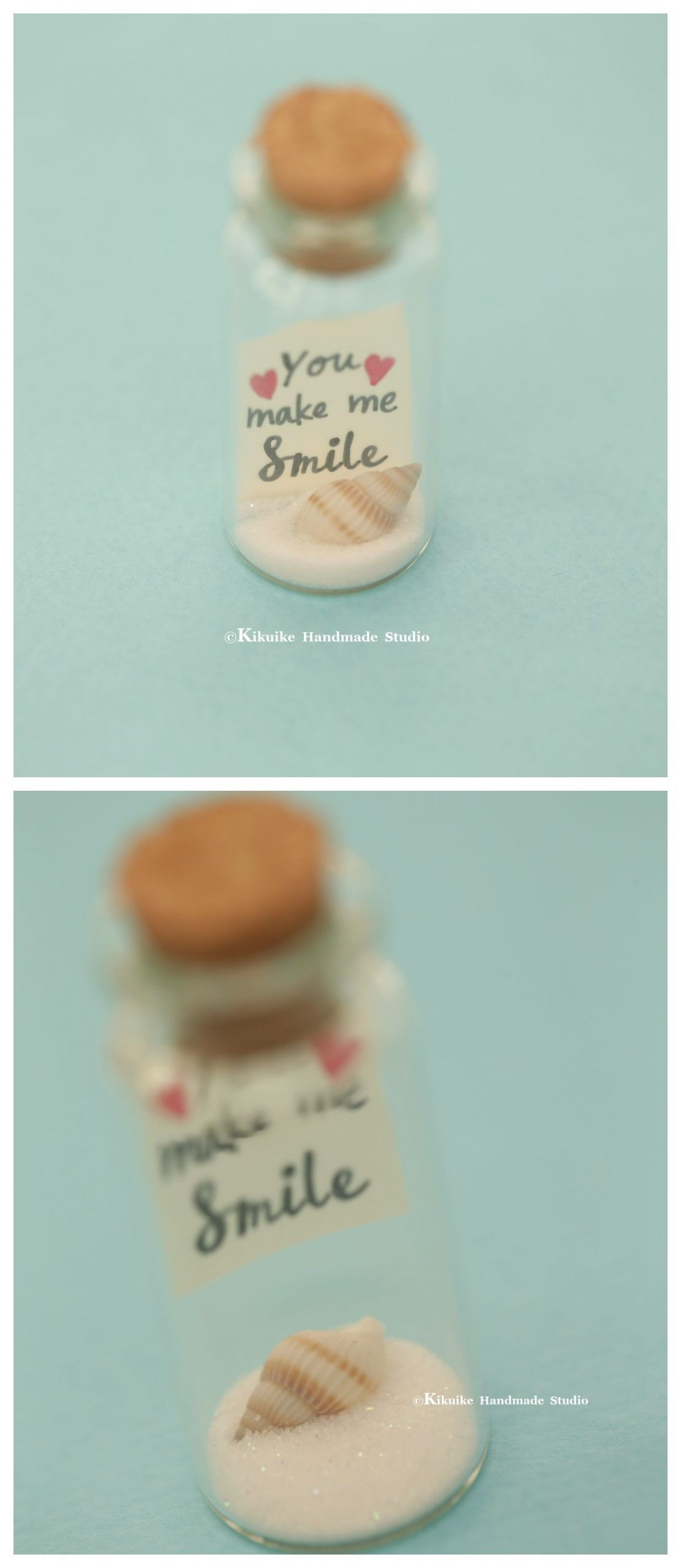 mini shell,You make me smile,Tiny message in a bottle,miniature,Personalised gift,lover gift,Valentine gift,Gift for her/him,Girlfriend gift#bottleminiaturepersonalised #gift #giftgift #giftlover #giftvalentine #herhimgirlfriend #message #mini #shellyou #smiletiny