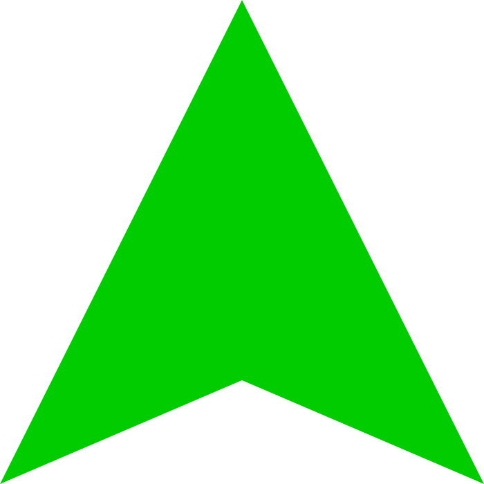 Green Arrow Up Darker Svg Green Arrow Patches Animation