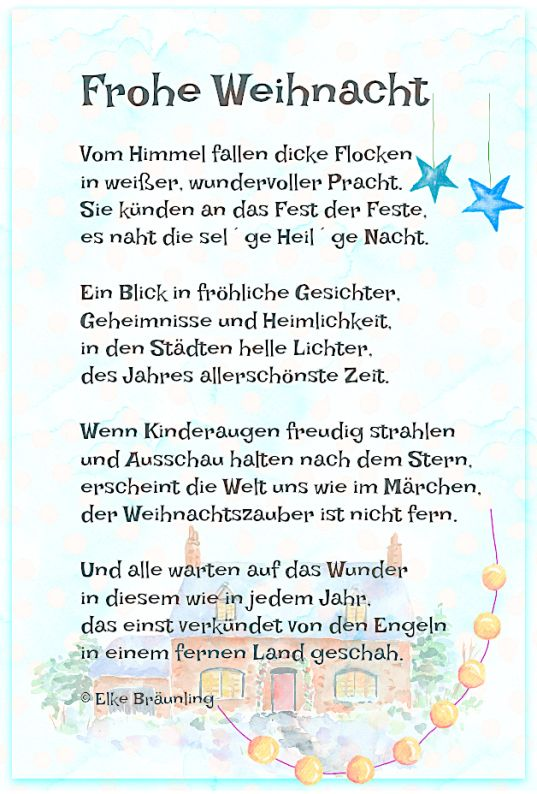 Frohe Weihnachten Text.Frohe Weihnacht Weihnachten Frohe Weihnacht Gedicht