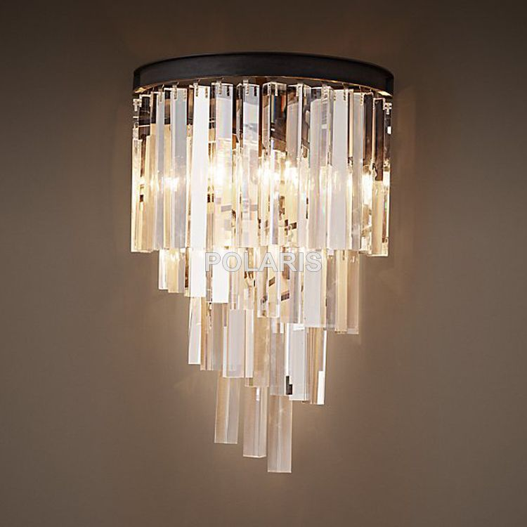 Factory Outlet Modern Art Decor Vintage K9 Crystal Chandelier Wall Sconce Lamp Light Lighting For Home Hotel Di Wall Lamp Shades Wall Lamp Wall Sconce Lighting