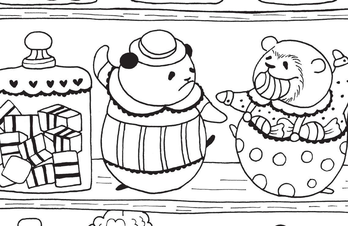 A Million Bears: Beautiful Bears to Colour Free Pattern Download ...