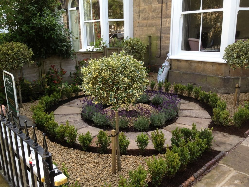 Garden Design Yorkshire the central path was cut from yorkshire stone and laid in a petal