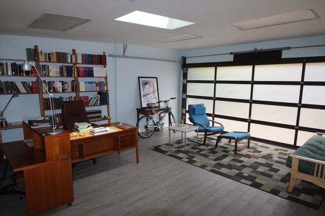Transform your garage into a home office haven garage - Transformer garage en bureau ...