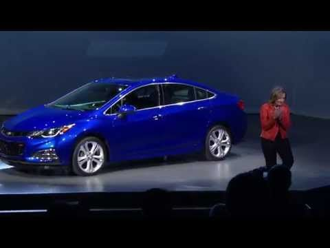 All New 2016 Cruze Reveal Design Technology Efficiency Chevrolet Youtube Cruze Chevy Cruze 2016 Chevy Cruze