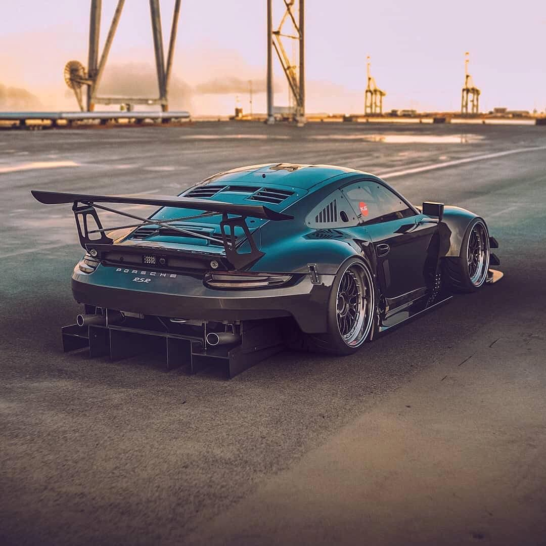 Porsche Rsr Design By Ig The Kyza Blacklist Porsche Rsr