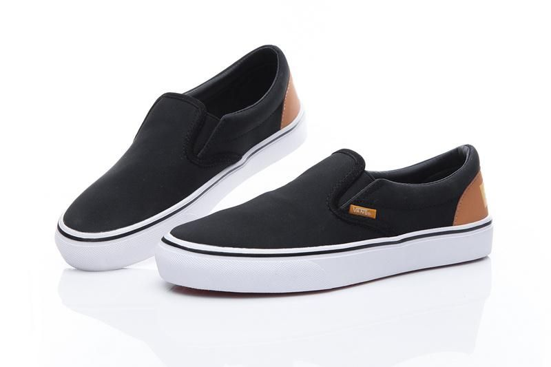 ff80f5ab4345 FTC x Vans Slip-On Pro Classic Black Tan White Mens Shoes  Vans Vans