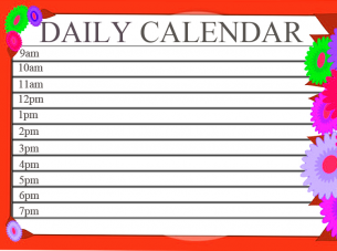 Repin And Like This Free Printable Daily Calendar Daily Calendars