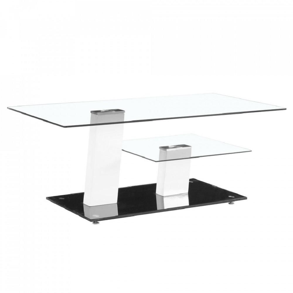 Contemporary White And Black Glass Coffee Table Design With High Glossy Bas Contemporary Coffee Table Contemporary Glass Coffee Tables Black Glass Coffee Table [ 1000 x 1000 Pixel ]