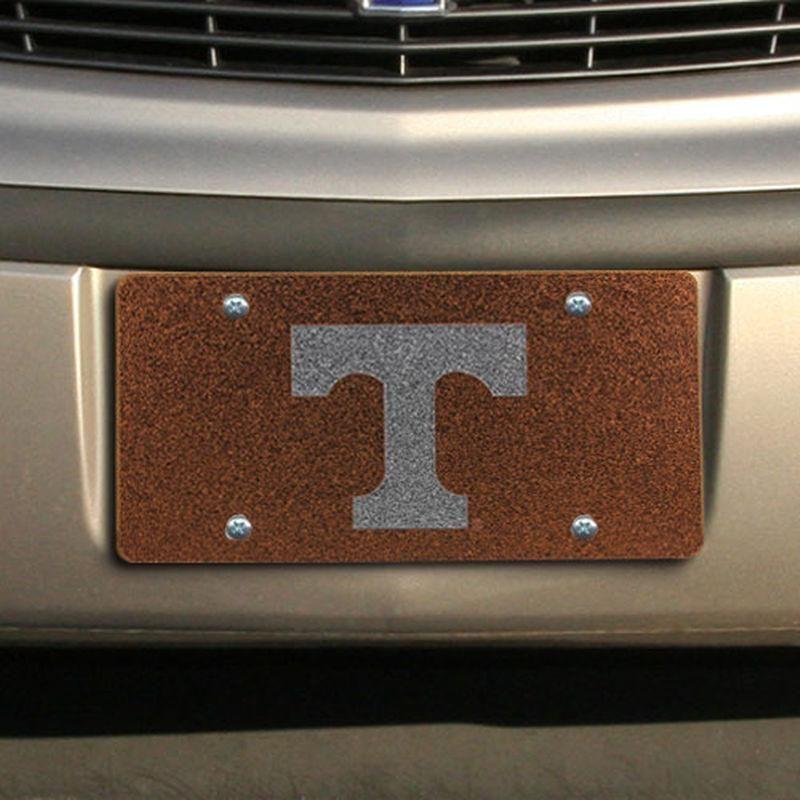 #Fanatics.com - #Stockdale Tennessee Volunteers Glitter License Plate - Tennessee Orange - AdoreWe.com