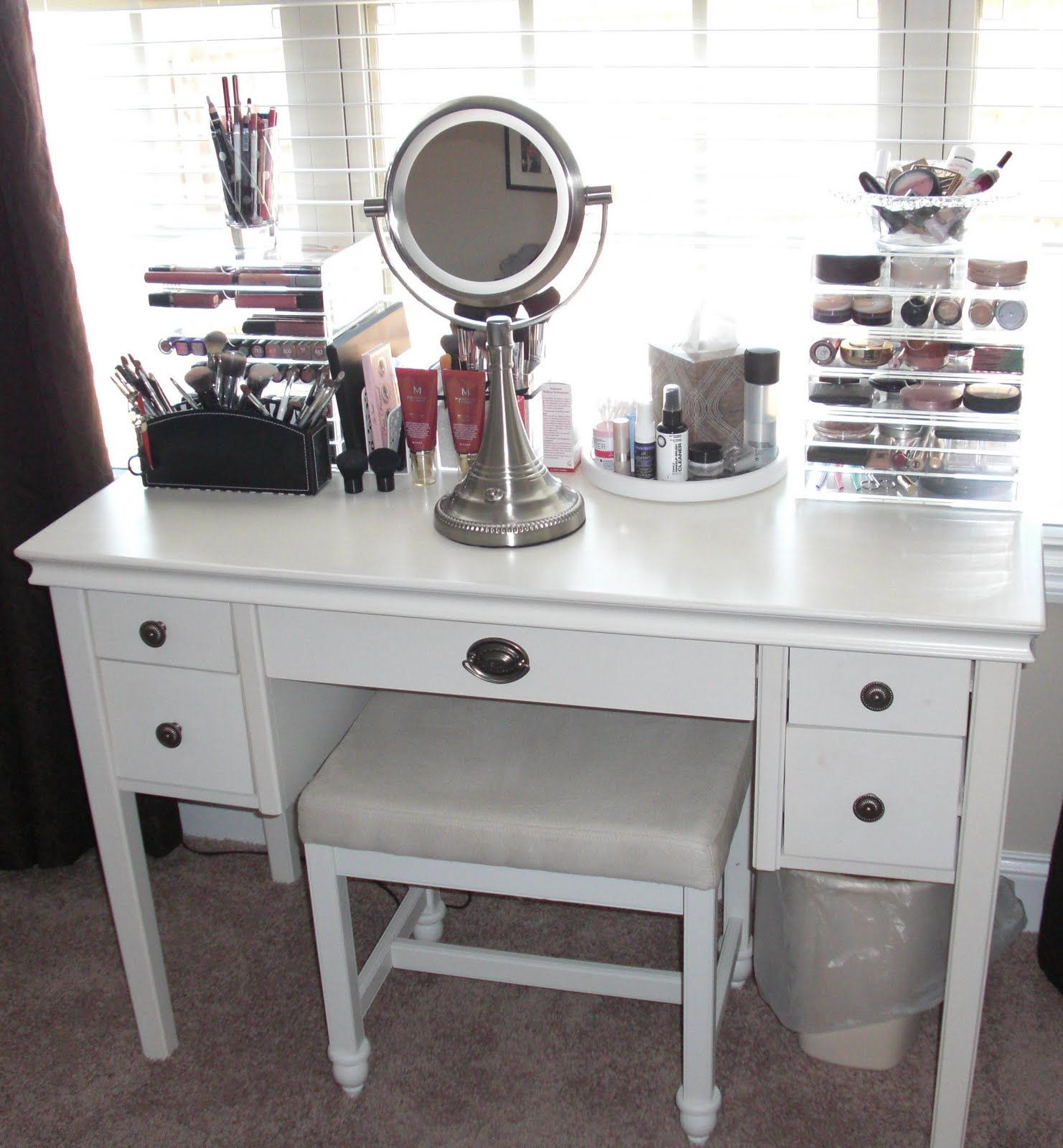makeup vanity table for small spaces best interior paint