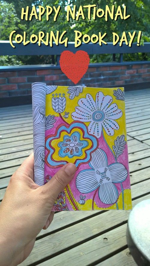 Did You Know Today August 2nd Is National Coloring Book Day