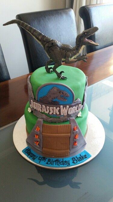 Jurassic World Cake Jurassic World Cake Birthday Cake Kids