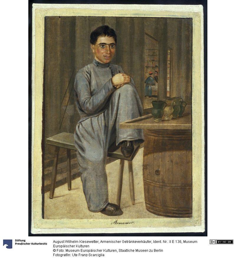 Armenischer Getränkeverkäufer, August Wilhelm Kiesewetter (1811 - 1865), Herstellung: 1848-49