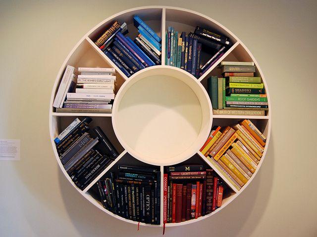 Diy Bookshelf Cheap Small Spaces