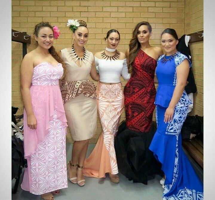 Samoan Style Polynesian Dress Samoan Dress Island Fashion