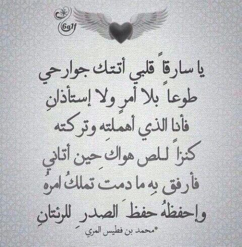 محمد بن فطيس المري Love Words Cool Words Arabic Love Quotes