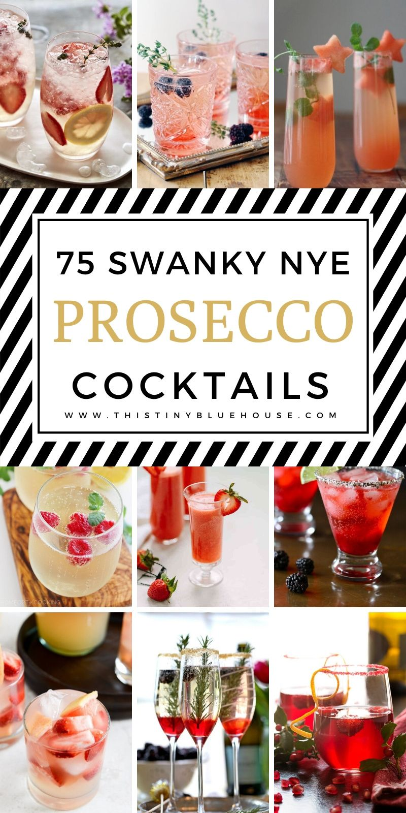 75 Best Easy Prosecco Cocktails For Your New Years Eve Party