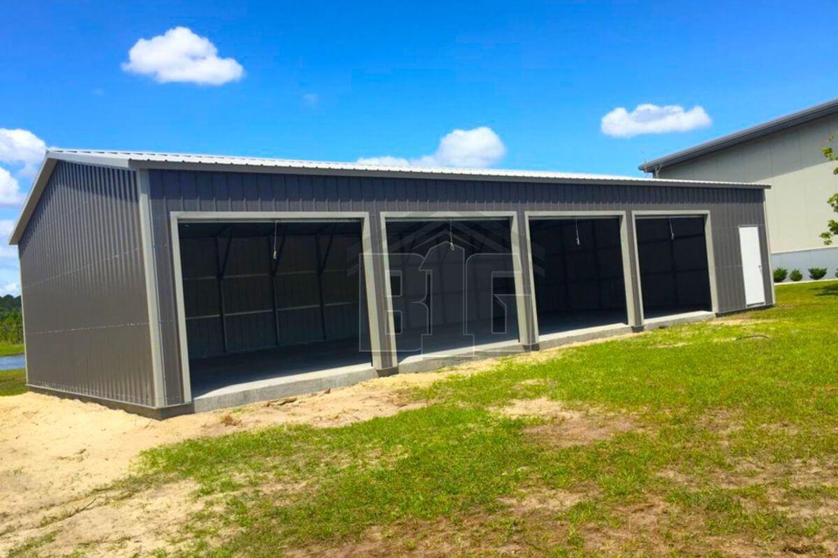 The Norman Garage 20x50x10 Big Buildings Direct In 2020 Garage Door Styles Garage Door Makeover Craftsman Style Kitchens