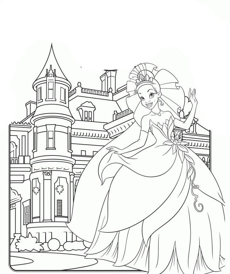 25++ Princess castle coloring pages info