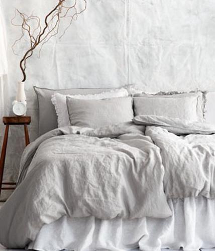 Einrichten Und Dekorieren Mit Leinen Leinen Bettwäsche Von Hm Home