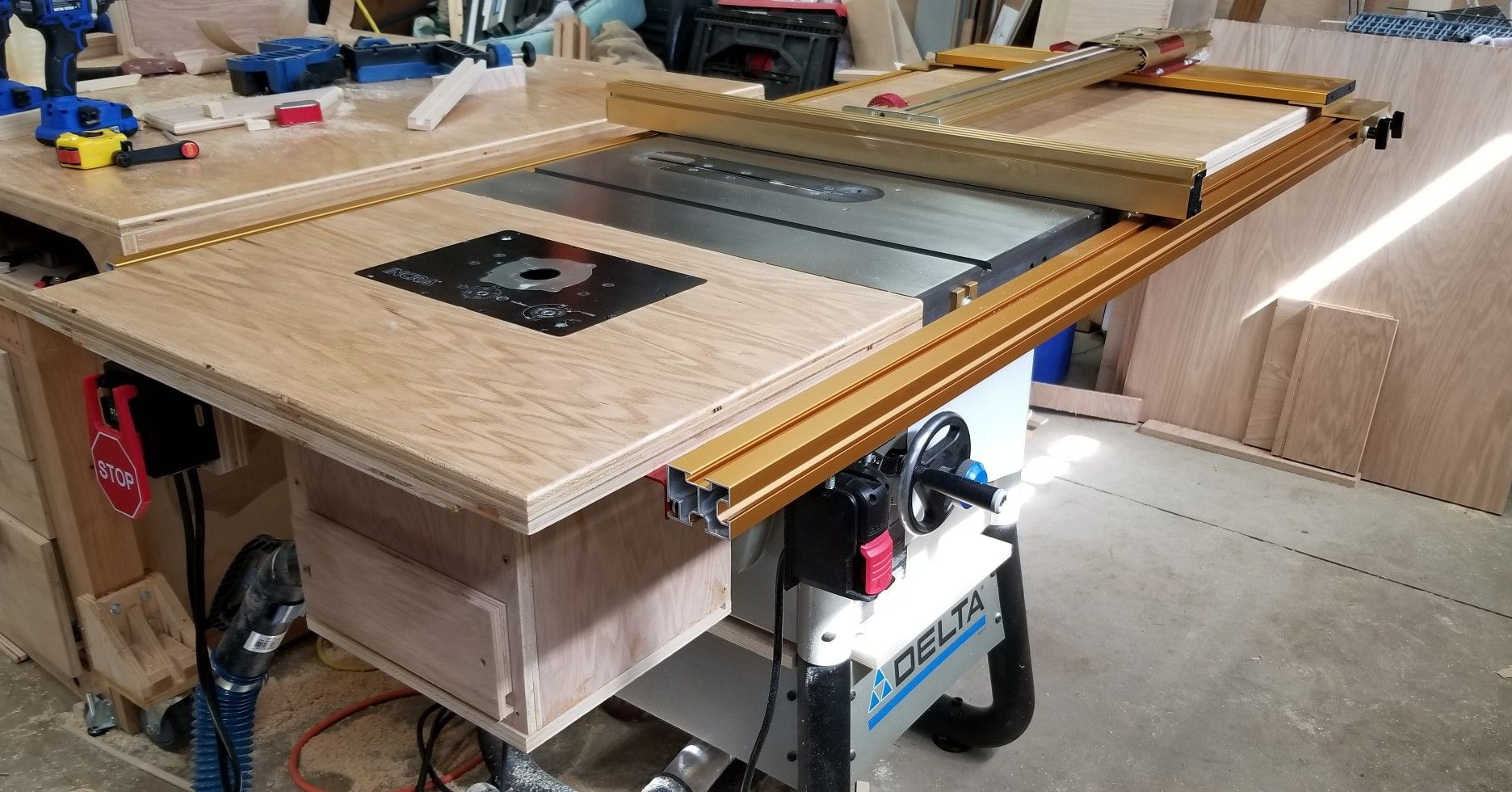 incra ts ls table saw fence