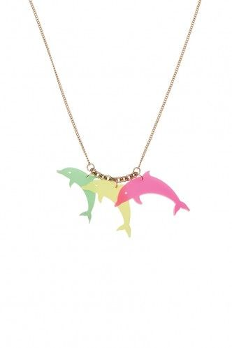 Collier dauphins Tatty Devine