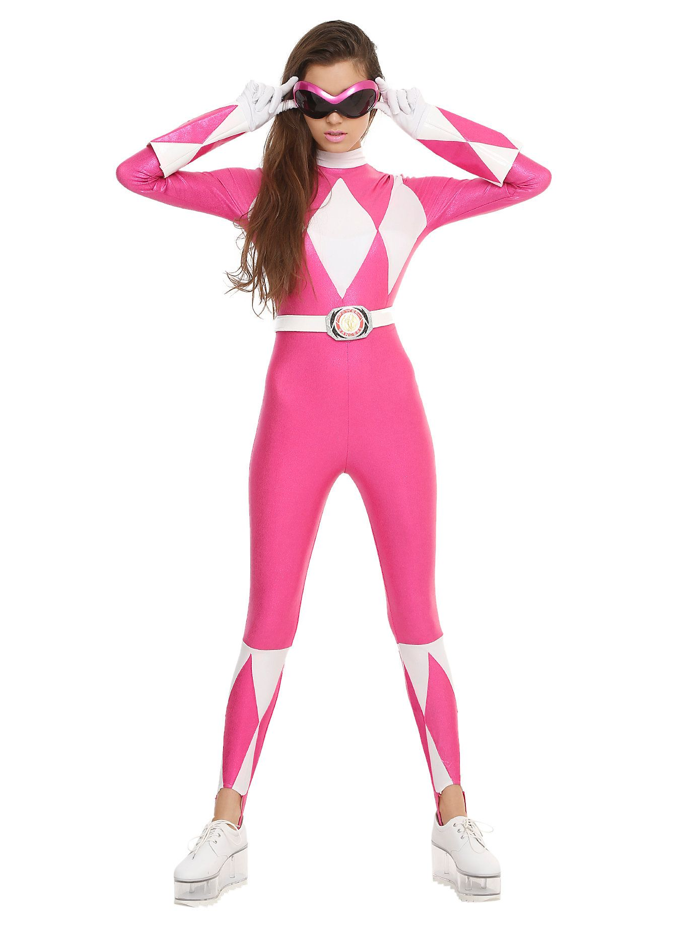 mighty morphin power rangers pink ranger costume. Black Bedroom Furniture Sets. Home Design Ideas