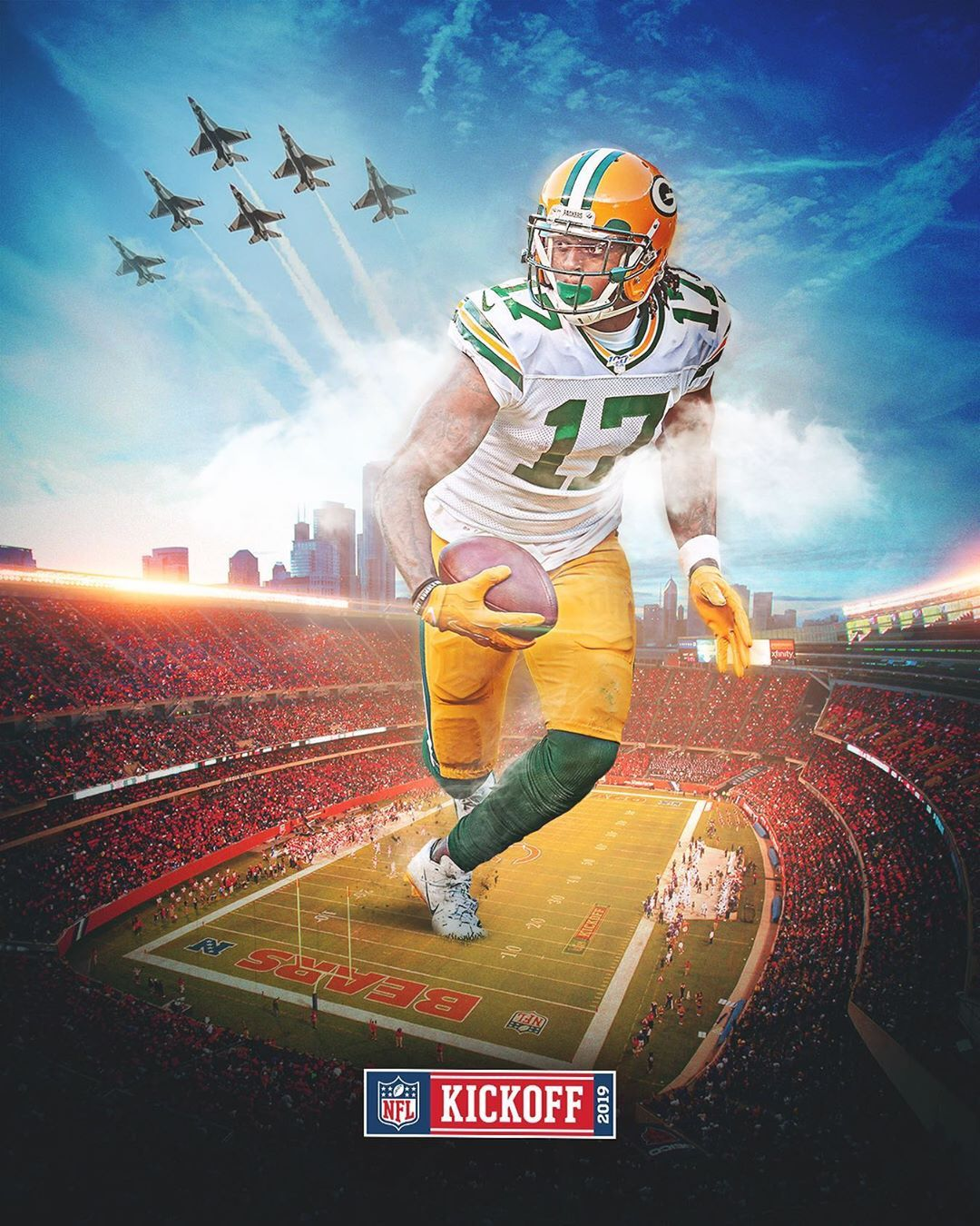 Green Bay Packers On Instagram 1 7 Days To Kickoff In Chicago Nfl100 Gopackgo Green Bay Packers Green Bay Green Bay Packers Football