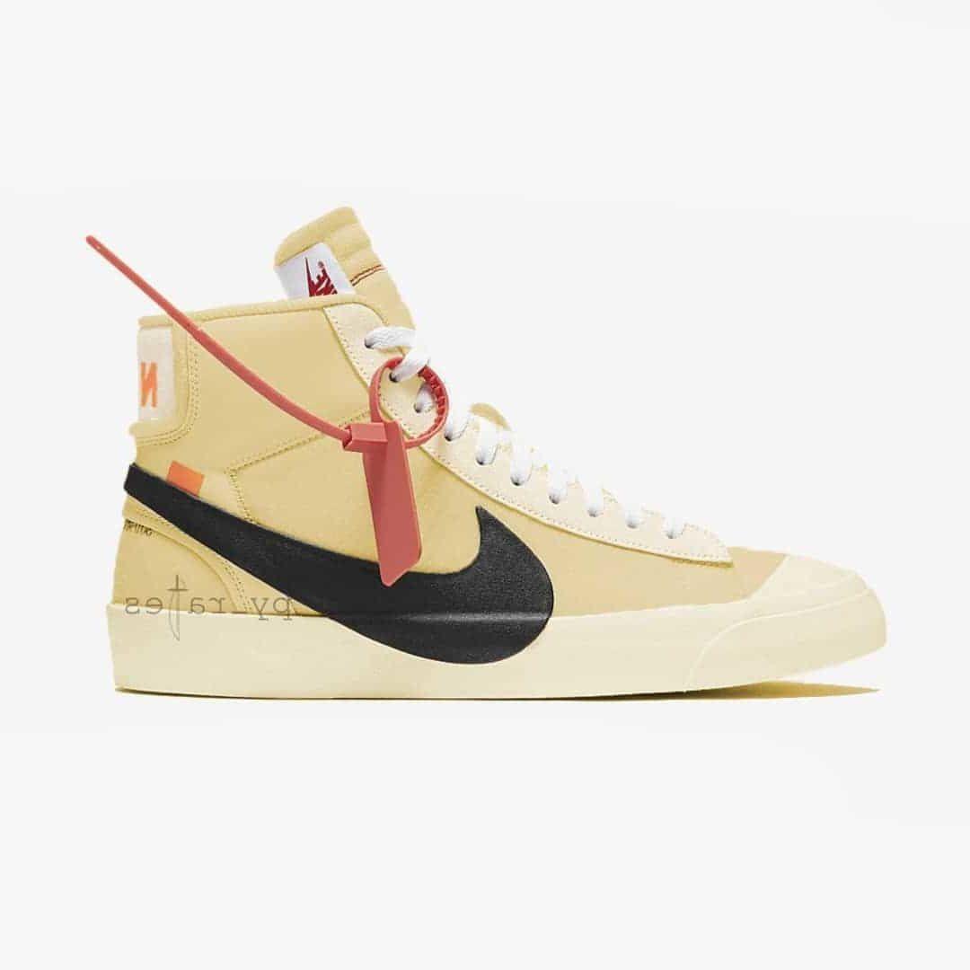 Off-White x Nike Studio Blazer Mid Pale Vanilla
