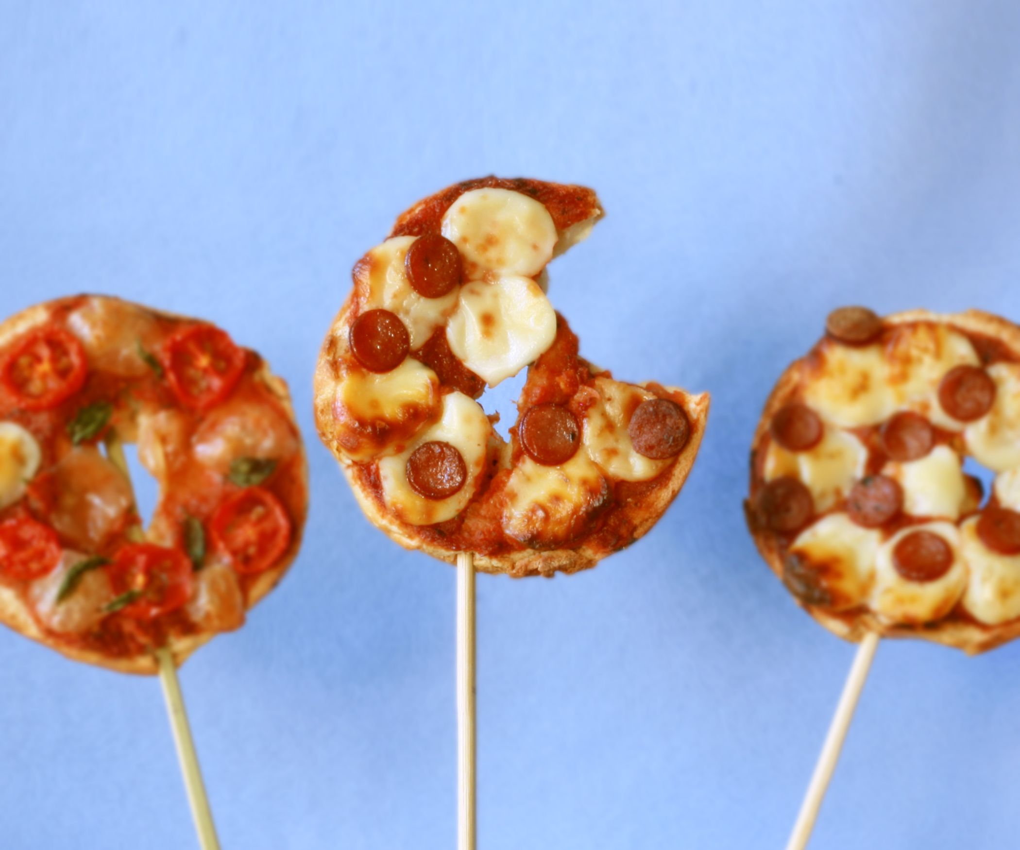 Pizza on a stick salty pinterest pizzas snacks and bagels pizza on a stick forumfinder Gallery