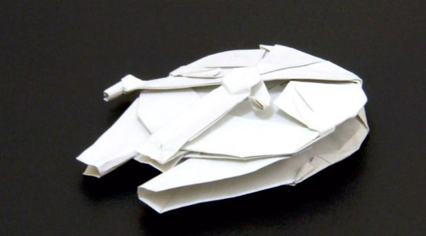 Millennium falcon origami | Origami | Star wars origami ... - photo#15