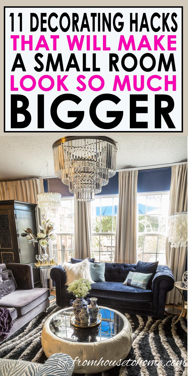 How To Make A Small Room Look Bigger 20 Small Space Decora