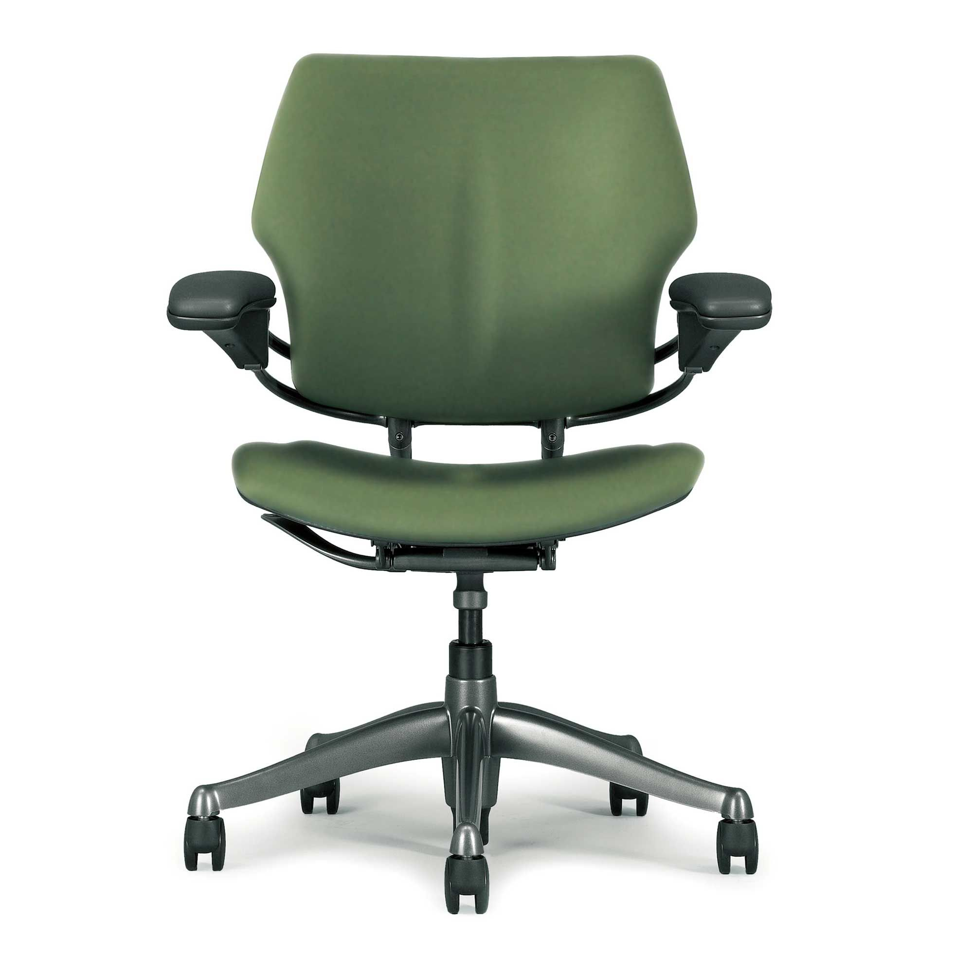 Ergonomic green freedom computer task chair with images