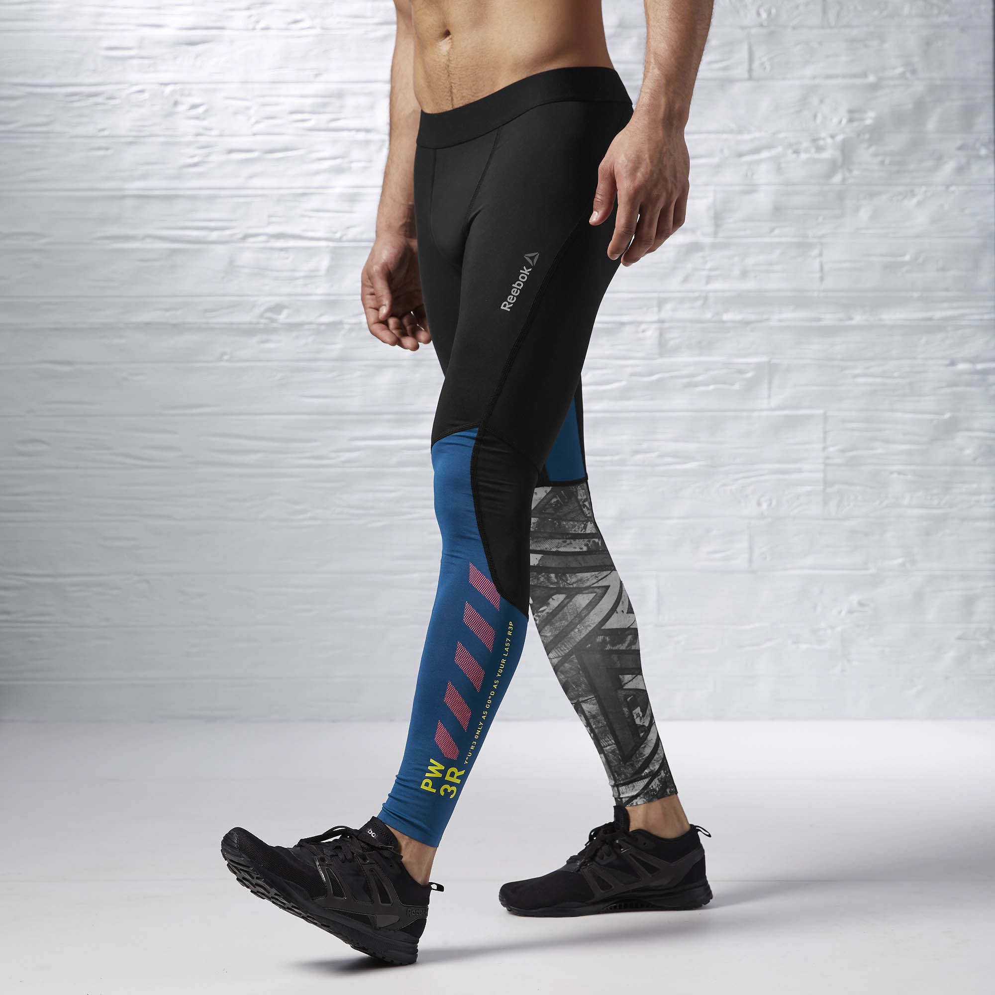 new styles outlet online outlet for sale Reebok - Reebok ONE Series Fe26 Rush Compression Tight ...
